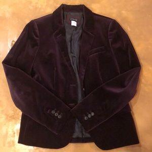 Jcrew velour blazer